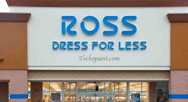 what time does ross close